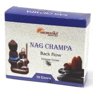 Aromatica Backflow Incense Cones - Nag Champa