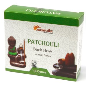 Aromatica Backflow Incense Cones - Patchouli