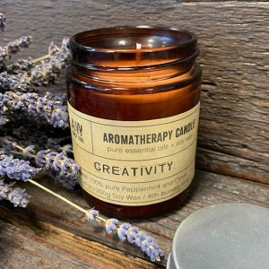 Aromatherapy Candle - Creativity