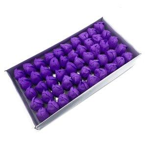 Craft Soap Flower - Med Tulip - Lavender