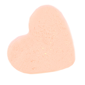 Love Heart Bath Bomb 70g - Passion Fruit