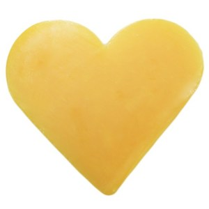 Heart Guest Soap - Grapefruit