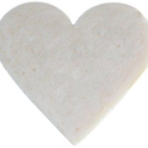 Heart Guest Soap - Coconut