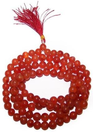 108 Bead Mala - Carnelian