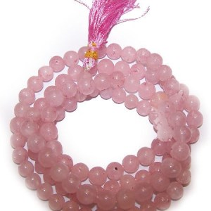 108 Bead Mala - Rose Quartz