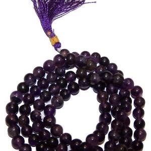 108 Bead Mala - Amethyst