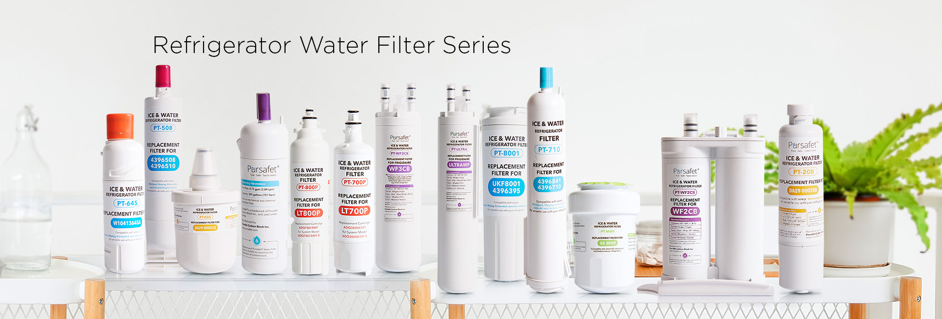 fridge water filter series