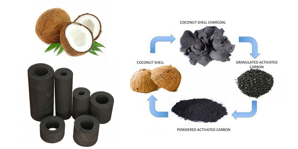 coconut shell carbon blocks