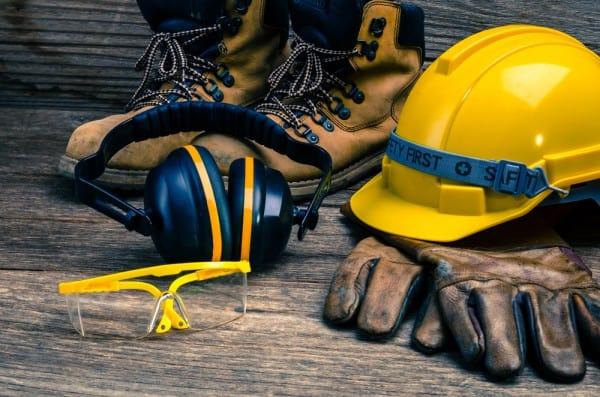 Wearing Safety Gear