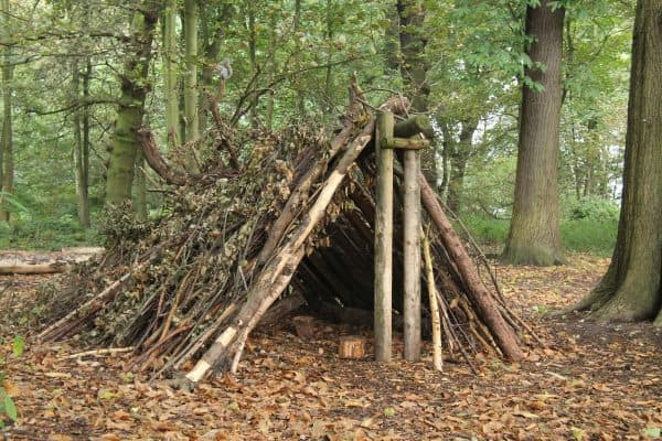 How to Build the A-Frame Shelter
