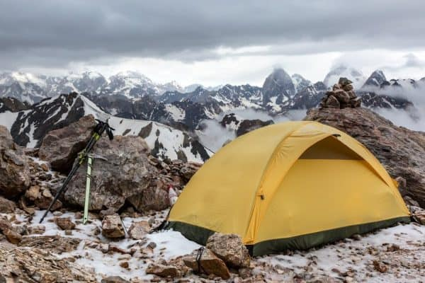 Use a Smaller Tent