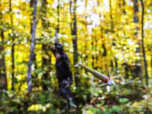 Hunting with A Bow and Arrow
