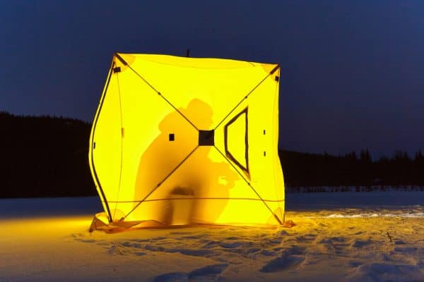 Night Ice Fishing Benefits
