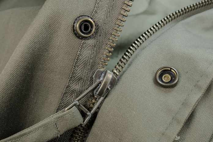 repaired zipper