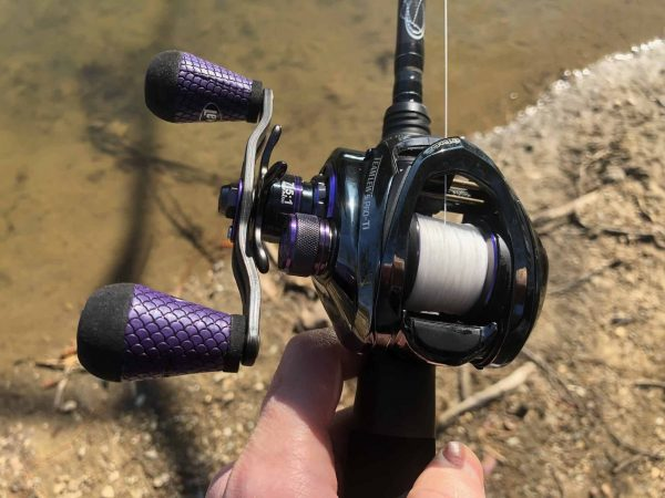 My Lews Pro-Ti Speed Spool SLP Casting Reel