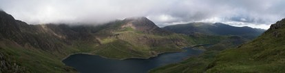 View of Snowdon's glacial valley