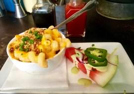 Mac N Cheese + Watermelon