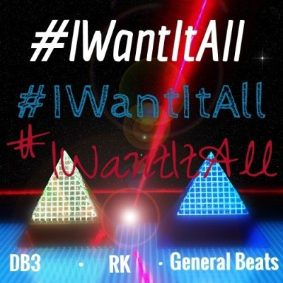 I want it all Cover Art