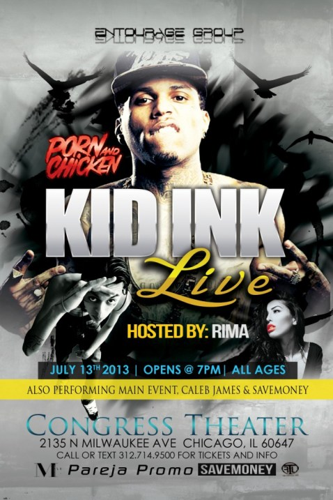 Kid Ink Live at Congress Theater