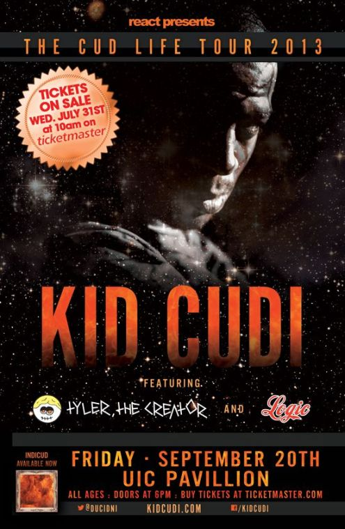 Kid Cudi UIC Pavillion