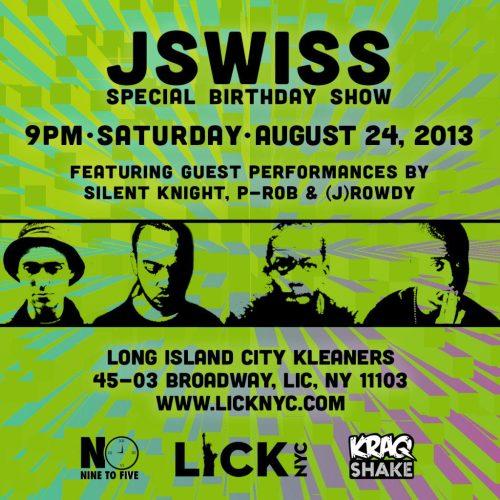 JSWISS flyer