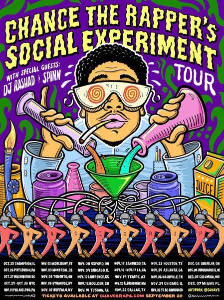 Chance The Rapper Social Experiment Tour