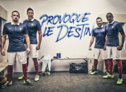 France World Cup 2014 Home Kit