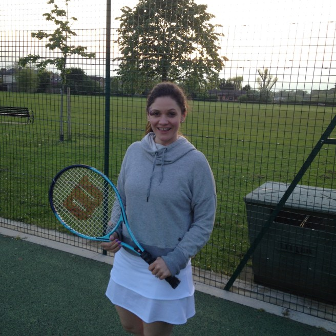 Evening tennis