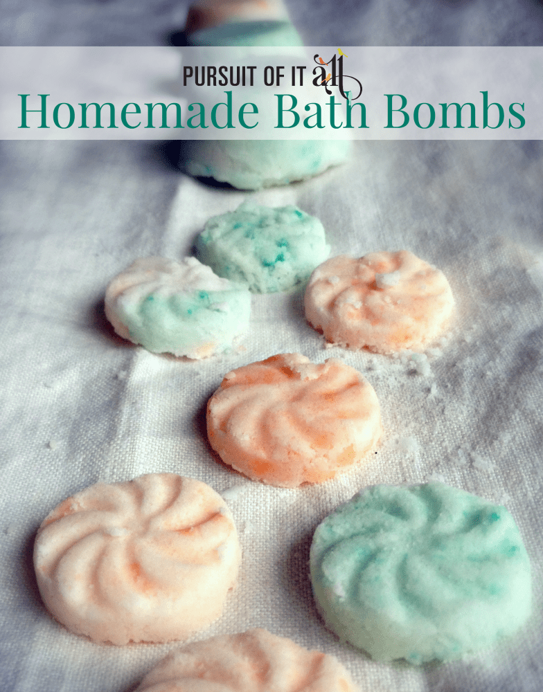 Homemade Bath Bombs!