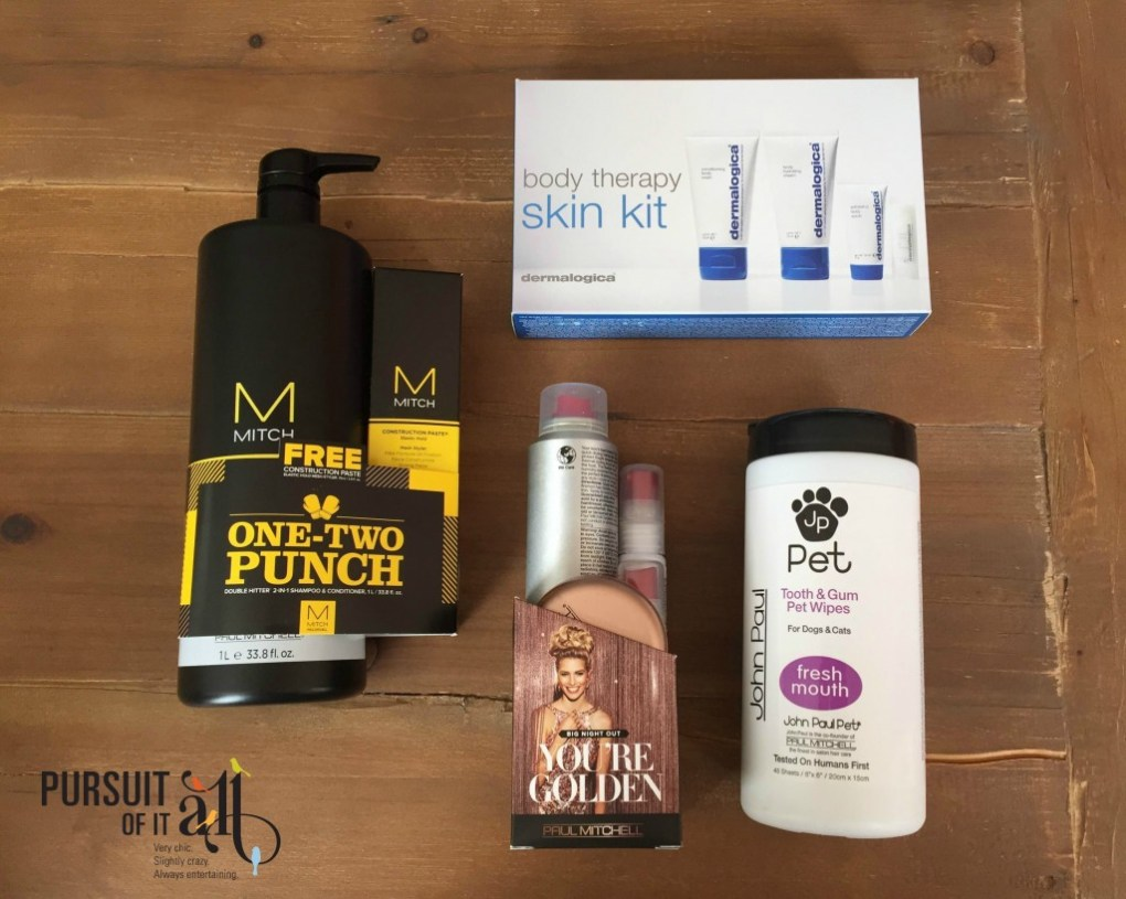 Paul Mitchell products giveaway from Pursuit of it All!
