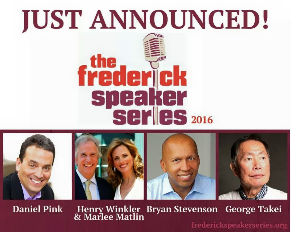2016 Season of Frederick Speaker Series