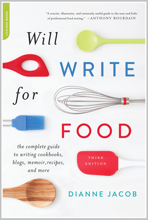 """Value of Lifelong Learning: """"Will Write for Food,"""" by Dianne Jacob"""