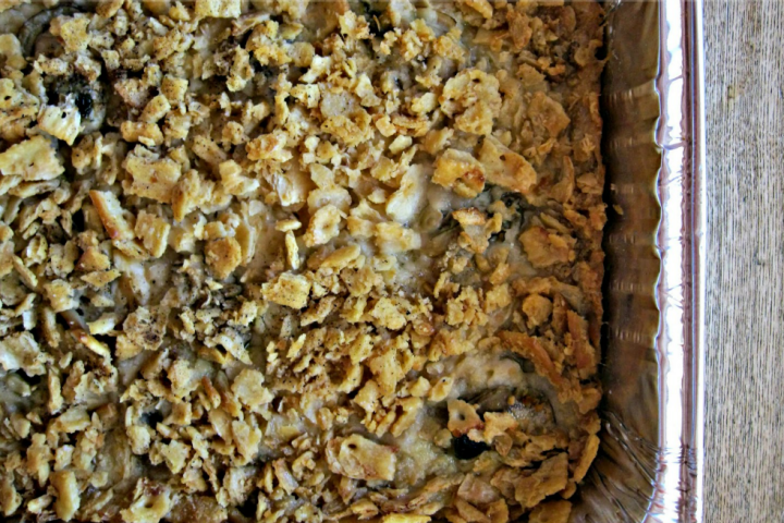 Holiday Oyster Casserole: perfect addition to any holiday spread!