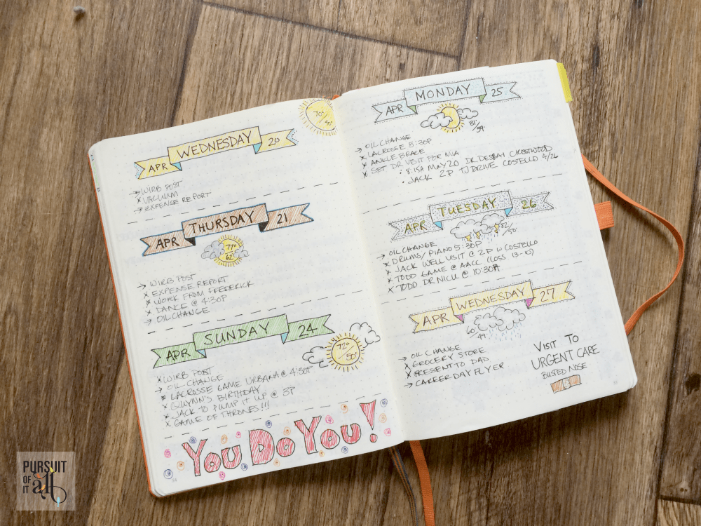 What's A Bullet Journal? Find out why so many people love this method of organization!