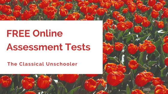 Free Online Informal Assessment Tests – A Comprehensive List