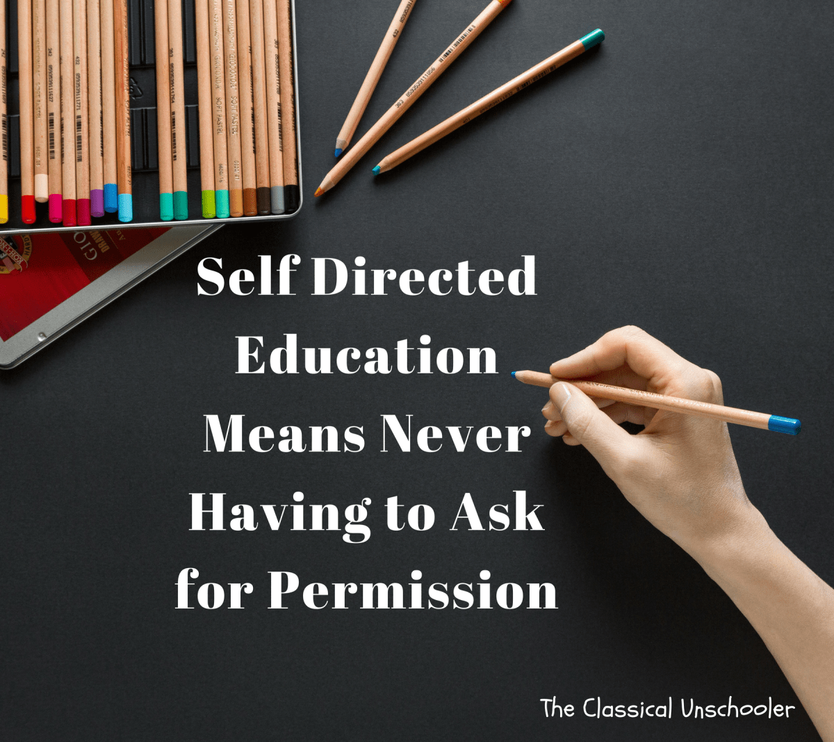 Self Directed Education Means Never Having to Ask for Permission