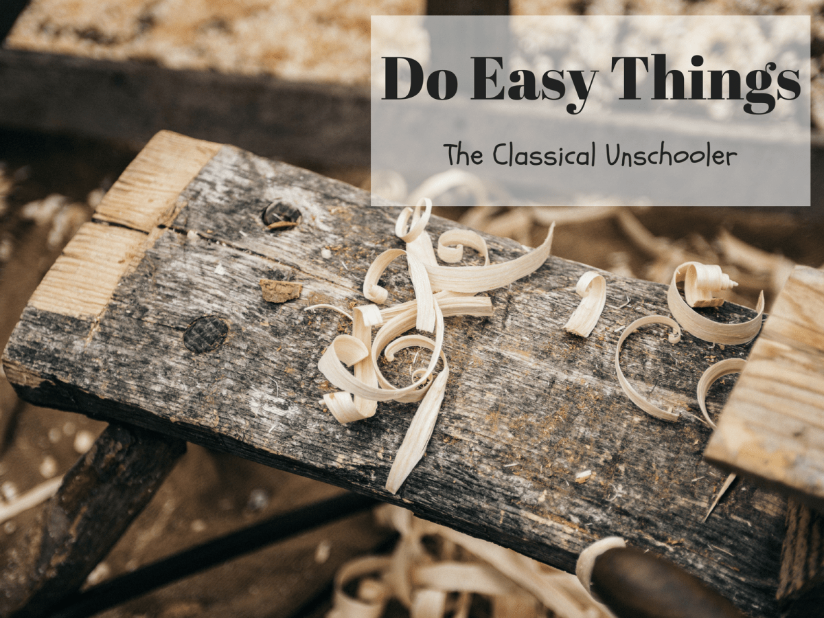 Do Easy Things - The Classical Unschooler