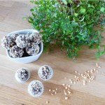Haselnuss Energy Balls