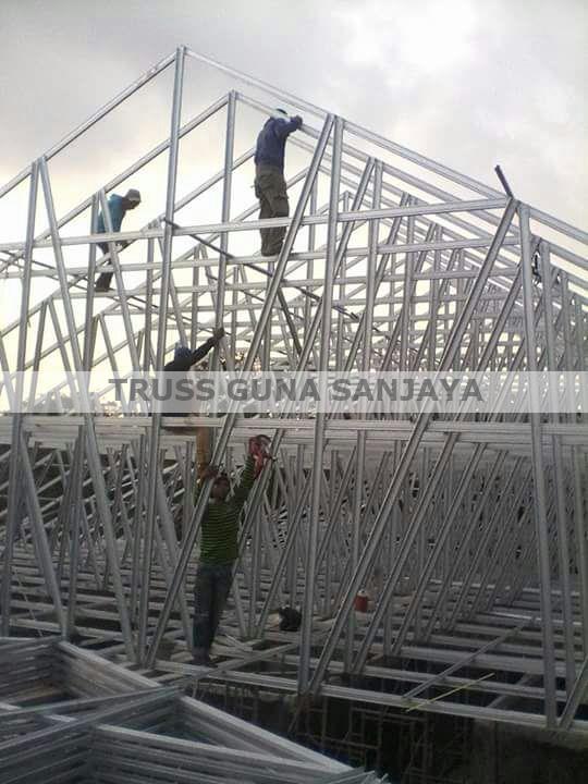 harga baja ringan per meter persegi semarang rangka atap murah kanopi jasa