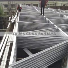 Harga Baja Ringan Per Batang Murah Rangka Atap Semarang Kanopi Jasa