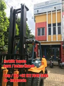 Forklift Toyota 7 Ton 5FD70 Mast V 5 Meter