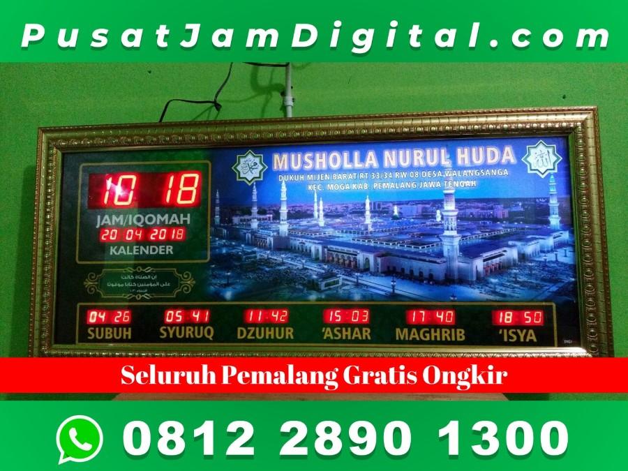 Harga Jam Jadwal Sholat Digital Pemalang