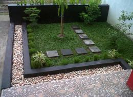 taman minimalis murah