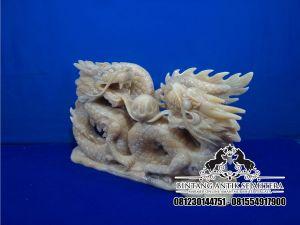Patung Naga Marmer, Kerajinan Batu Marmer