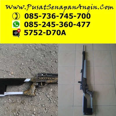 senapan angin sharp ace power long barrel - shooter air rifle