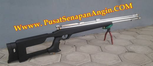 Senapan Gejluk shooter Air rifle Laras baja OD 25