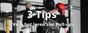 Drie oefeningen voor jouw eerste zelfstandige pull-up!