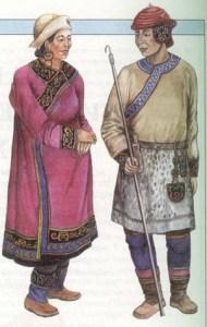 Нивхи национальный костюм