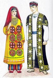 Таджики национальный костюм