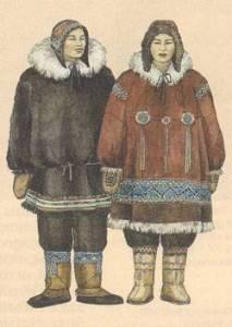Эскимосы национальный костюм